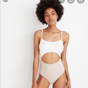 Madewell Second Wave One Piece Swim